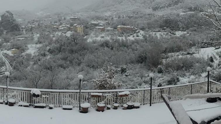 Allerta meteo in Campania, in arrivo freddo e neve