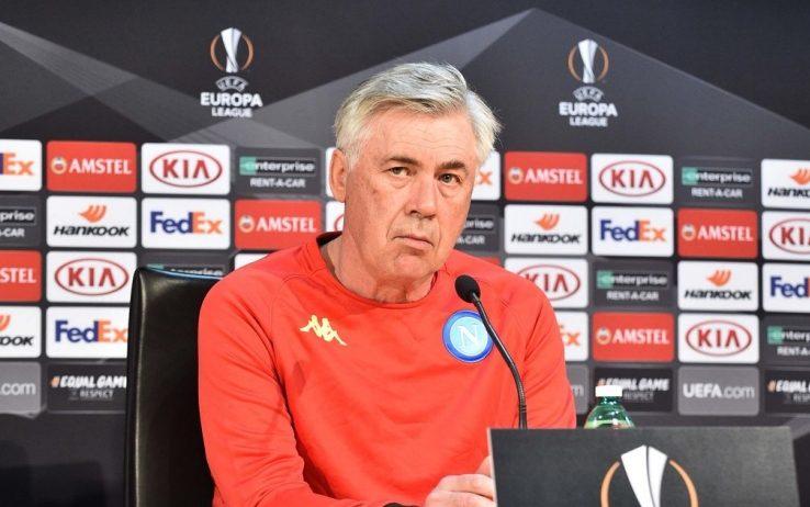 """Ancelotti: """"Con lo Zurigo gioca Chiriches. Siamo da 7 in pagella, il distacco in campionato è merito della Juve"""""""