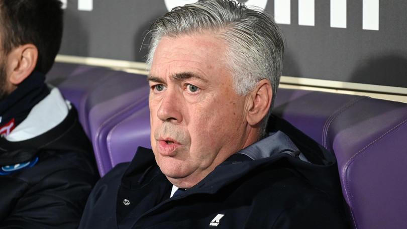 """Fiorentina-Napoli, Ancelotti: """"Meritavamo di vincere"""""""