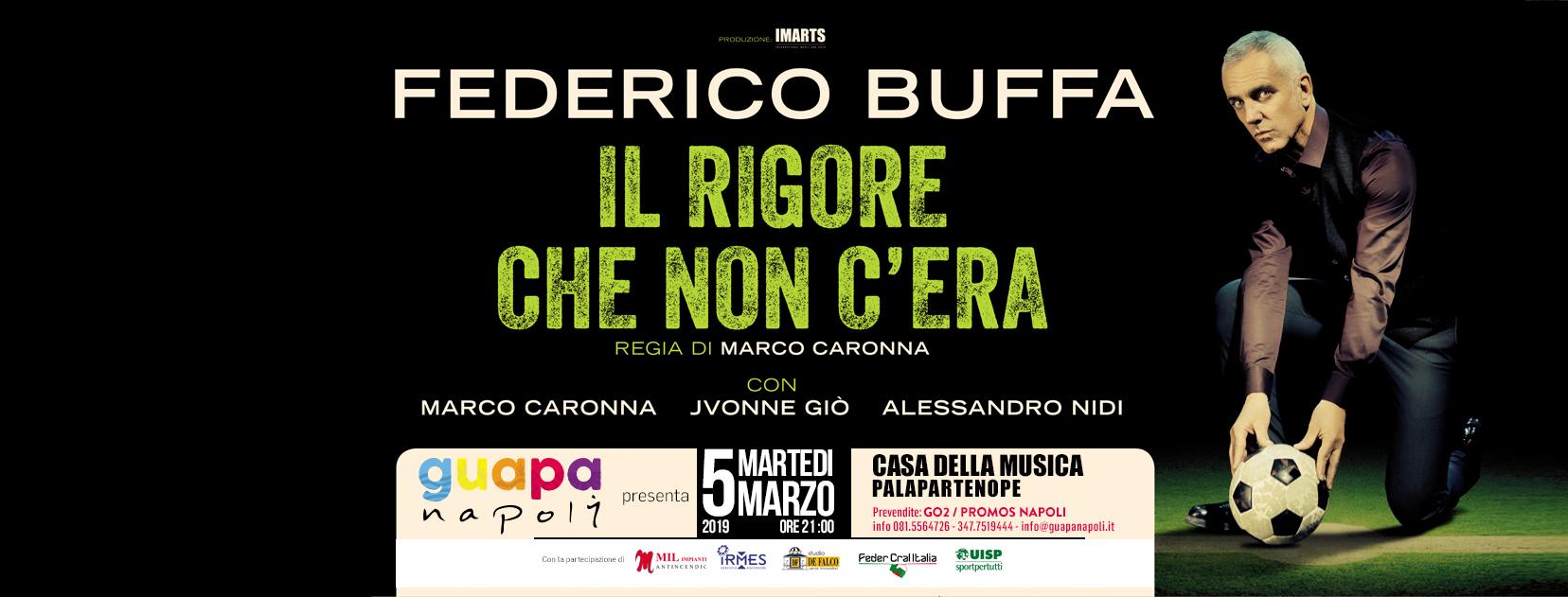 """Federico Buffa racconta """"Il rigore che non c'era"""" a Napoli"""