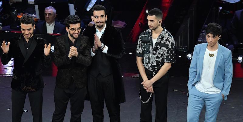 Sanremo 2019: vince Mahmood, Nino D'Angelo e Livio Cori ultimi
