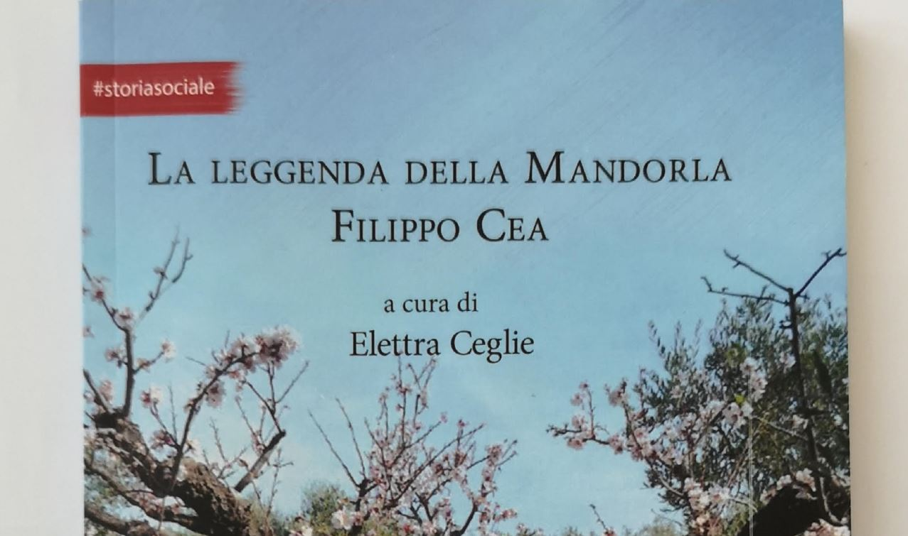 """Napoli, Hotel Parker's: sabato 30 marzo presentazione """"La Leggenda della Mandorla Filippo Cea"""" a cura di Elettra Ceglie"""