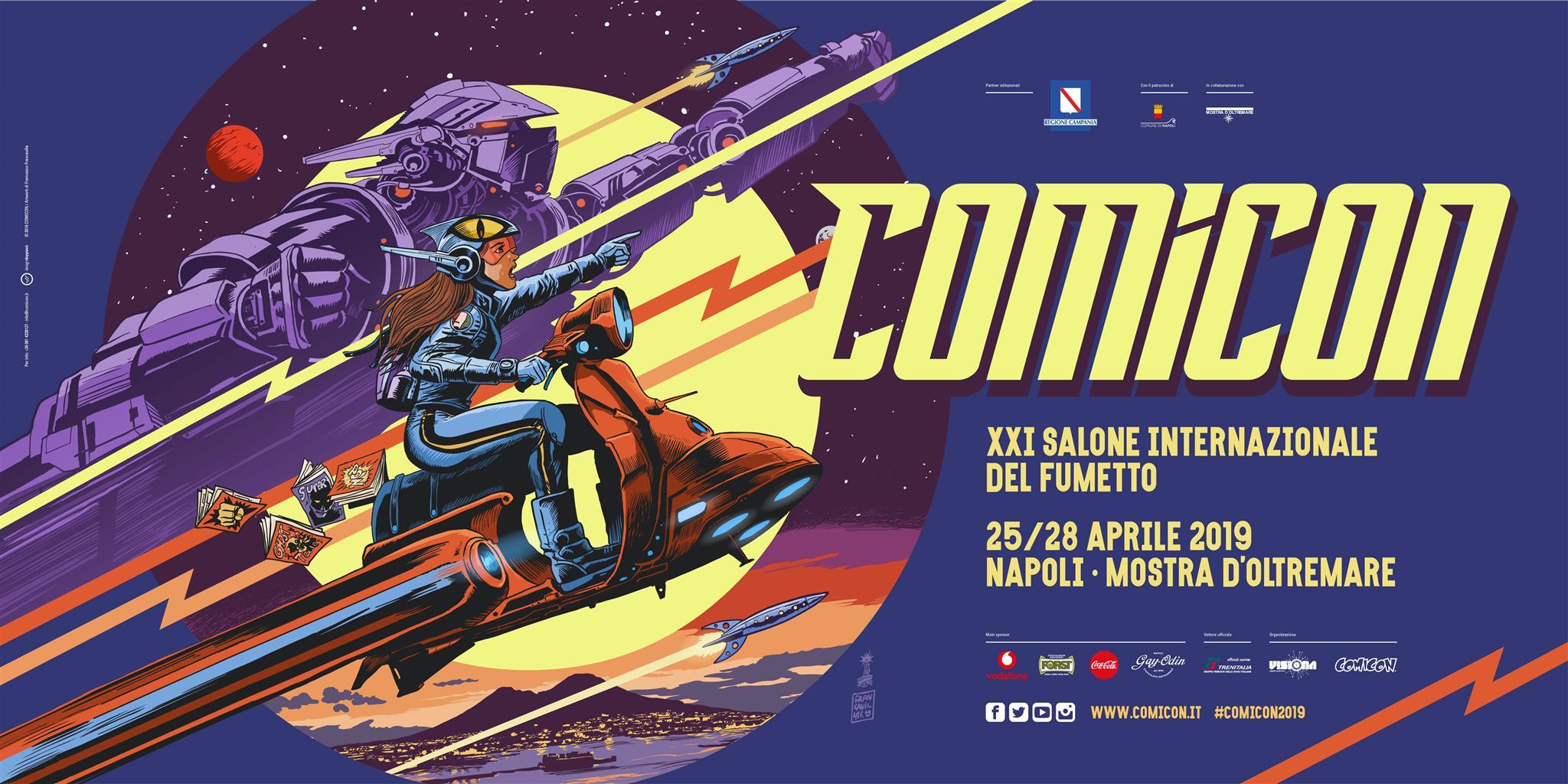 Manifesto Napoli Comicon 2019