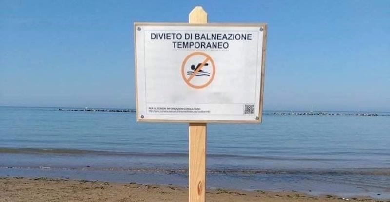 Scatta il divieto di balneazione tra Pozzuoli, Licola e Cuma