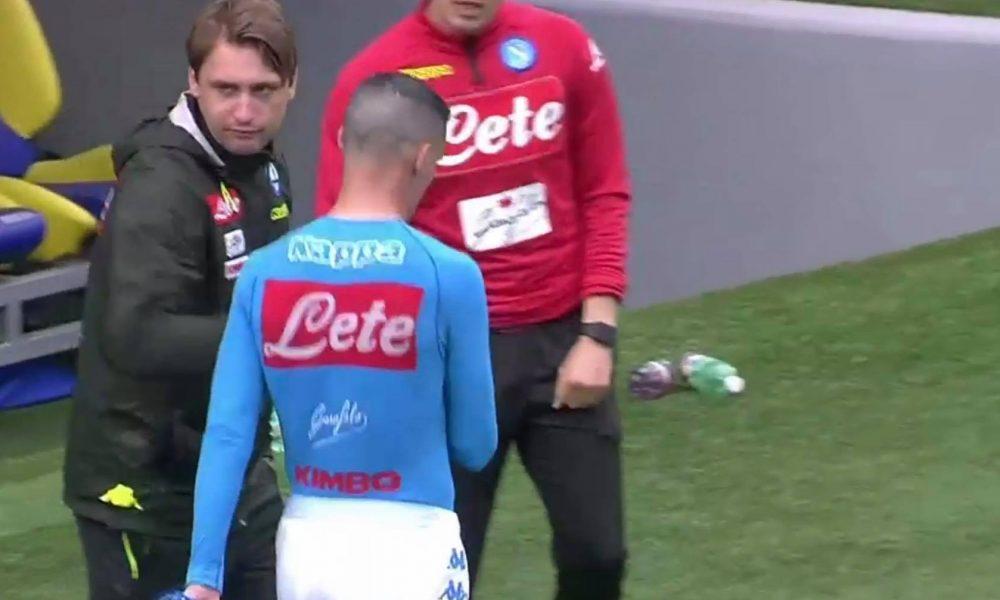 """I tifosi del Napoli chiedono scusa a Callejon dopo il gesto della maglia: """"Sei uno di noi"""""""