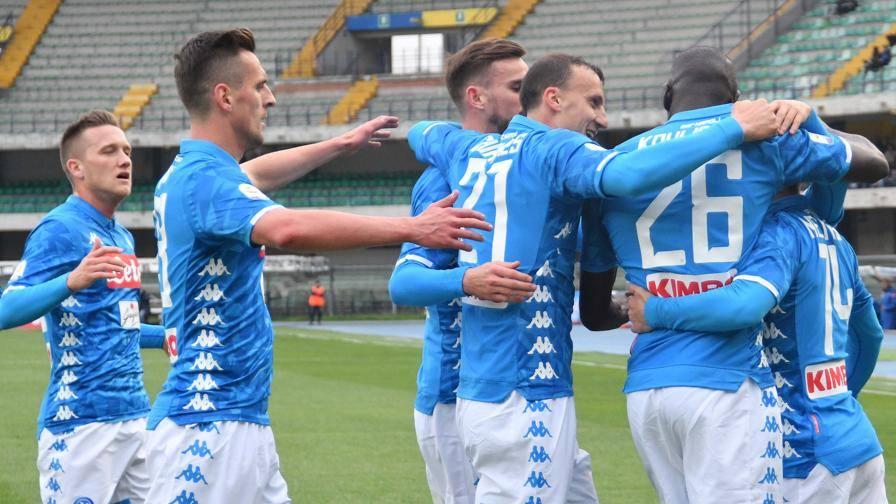 Chievo-Napoli 1-3, Milik e la doppietta di Koulibaly rilanciano gli azzurri