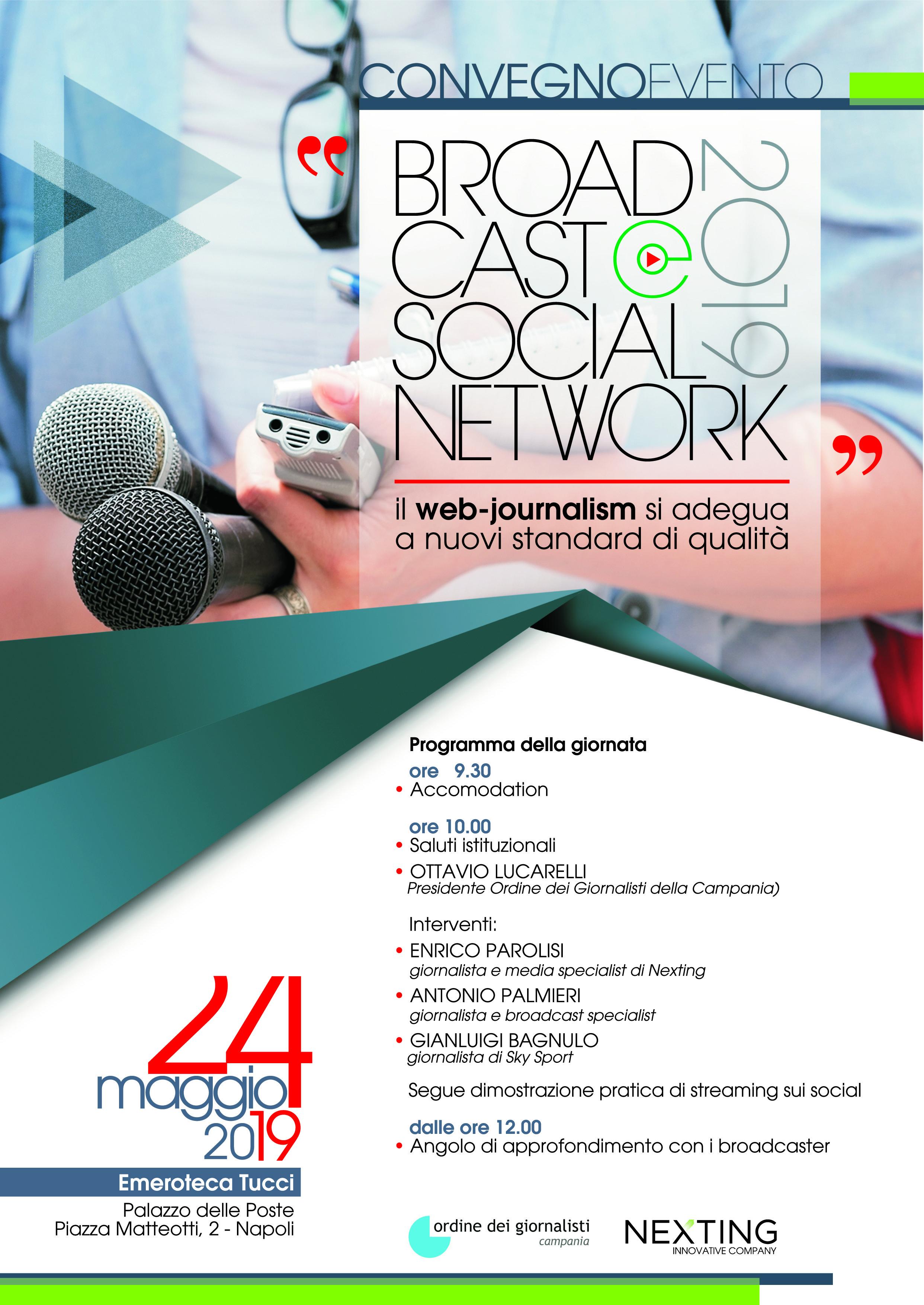 Giornalismo online, quale futuro? A Napoli corso OdG - Nexting su video, web e social network