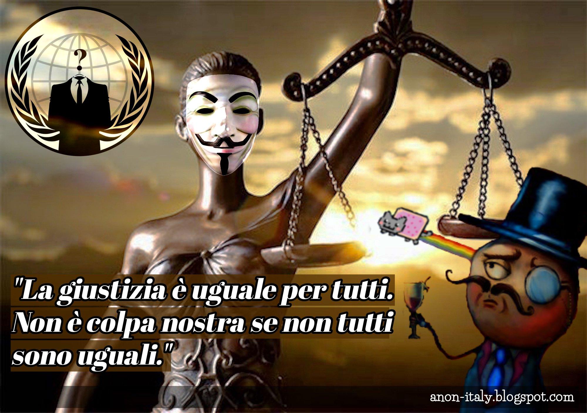 Anonymous :attacco hacker per 30.000 avvocati