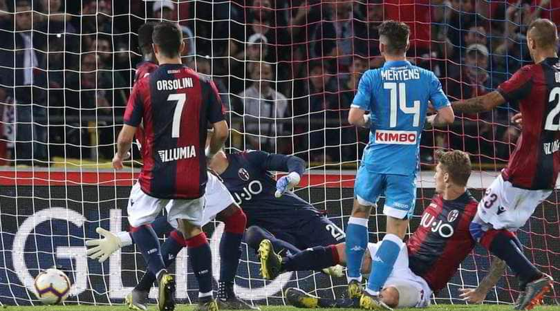Bologna-Napoli 3-2: Ghoulam e Mertens non bastano, azzurri rimontati nel finale
