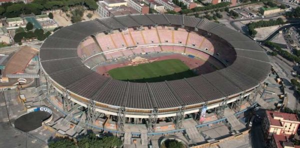 Universiadi 2019: i lavori allo stadio San Paolo termineranno il 25 giugno