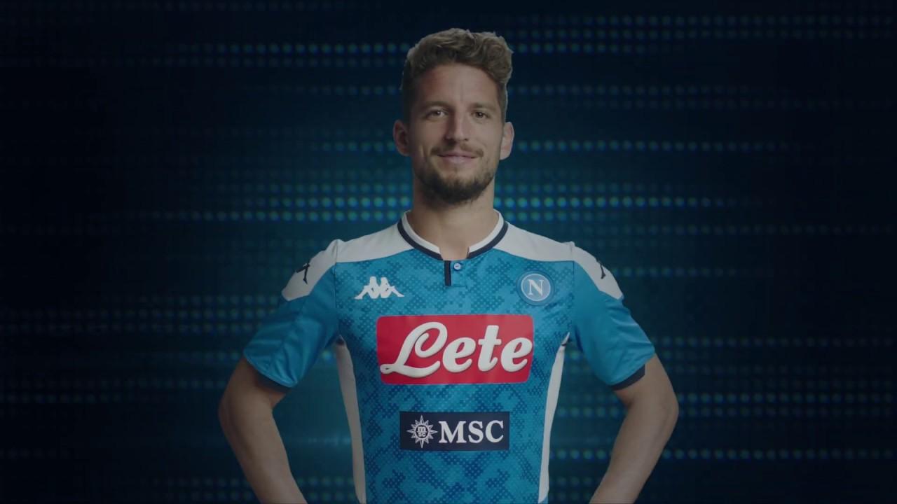 Calcio Napoli, svelata la maglia della stagione 2019-20