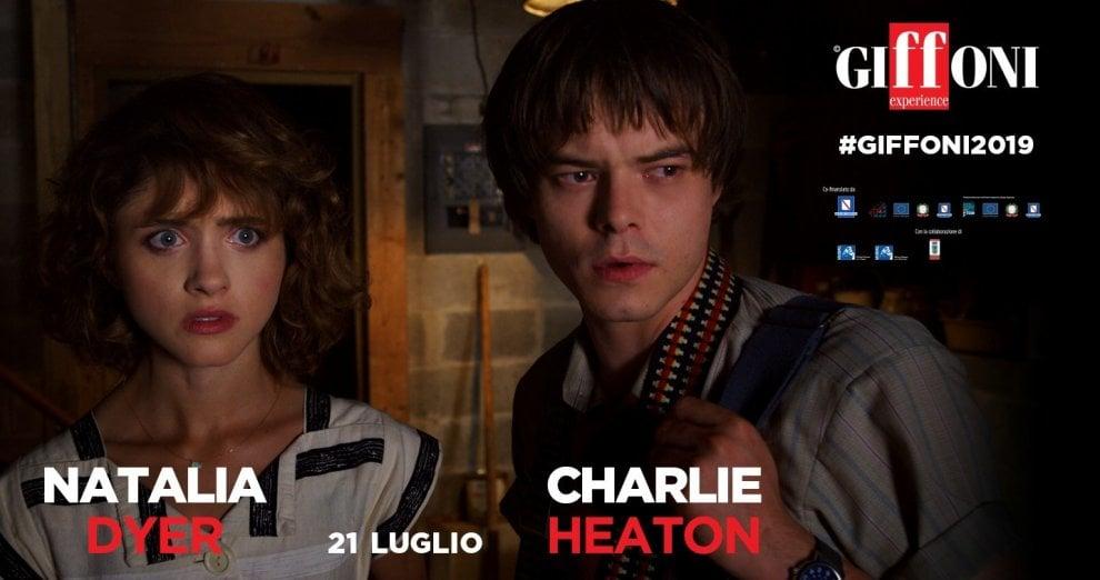 I protagonisti di Stranger Things al Giffoni Film Festival