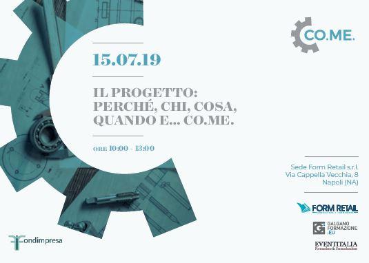 Formazione, digitalizzazione, industria 4.0: lunedì focus sul progetto CO.ME. con istituzioni, aziende, sindacati e docenti