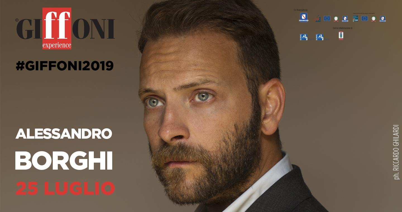 Giffoni Film Festival, Alessandro Borghi ospite della 49esima edizione