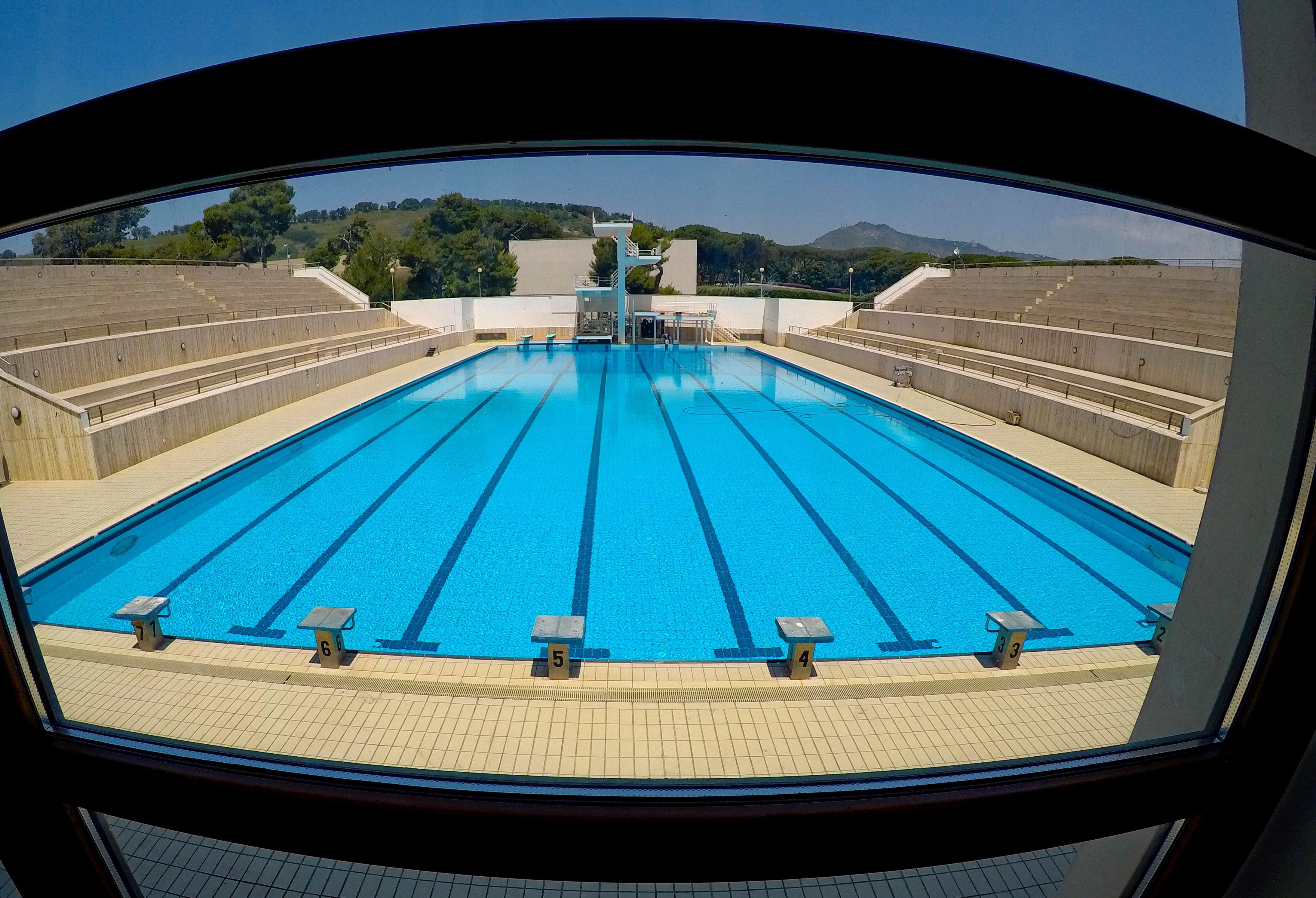Il primo agosto riapre la piscina della Mostra d'Oltremare