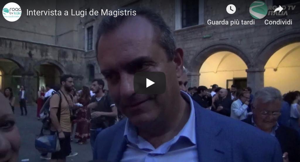 Premio Nazionale Italia a Colori 2019, video intervista al sindaco Napoli Luigi de Magistris!