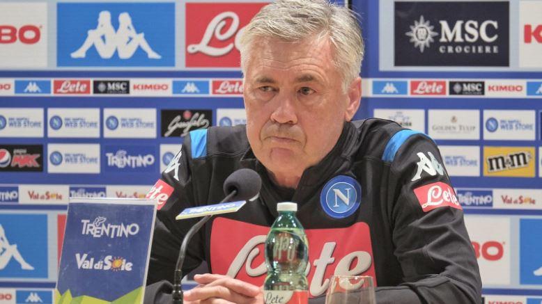 """Dimaro, Ancelotti in conferenza stampa: """"James Rodriguez ha qualità, ma non è ancora nostro"""""""
