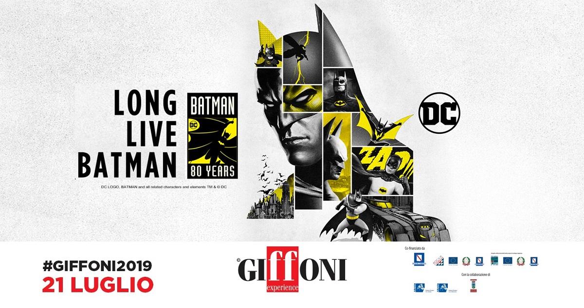 Al Giffoni Film Festival gli 80 anni di Batman
