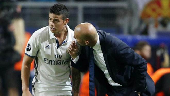 Napoli-James Rodriguez, Zidane frena tutto: vuole trattenere il colombiano a Madrid