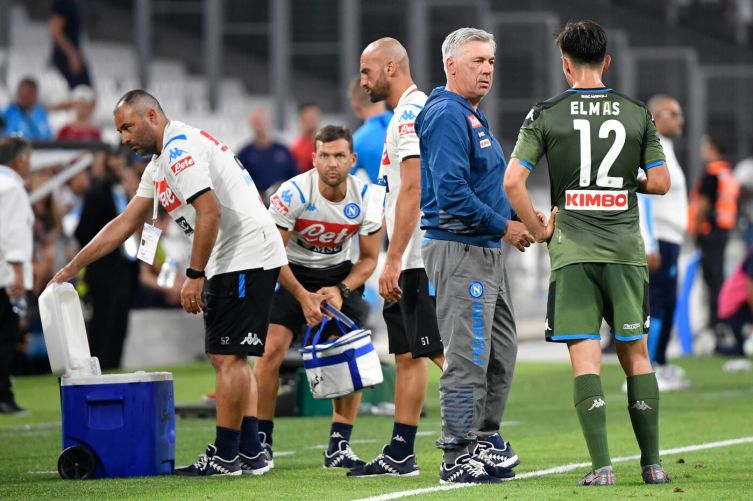 """Marsiglia-Napoli, Ancelotti: """"Buon test, stiamo crescendo"""""""