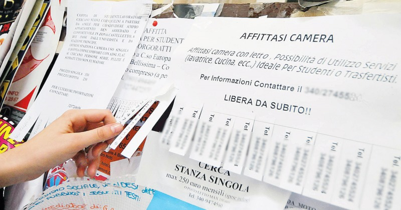Quanto costa a un fuori sede affittare una stanza a Napoli?