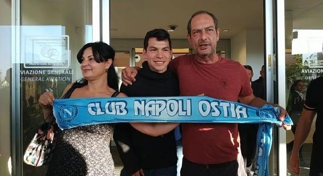 Napoli, Lozano è sbarcato a Roma: fissate per domani le visite mediche