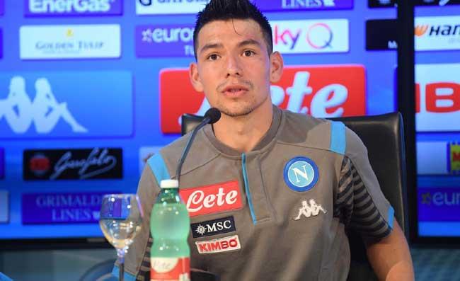 """Napoli, Lozano si presenta: """"Scudetto? Pensiamo partita dopo partita"""""""