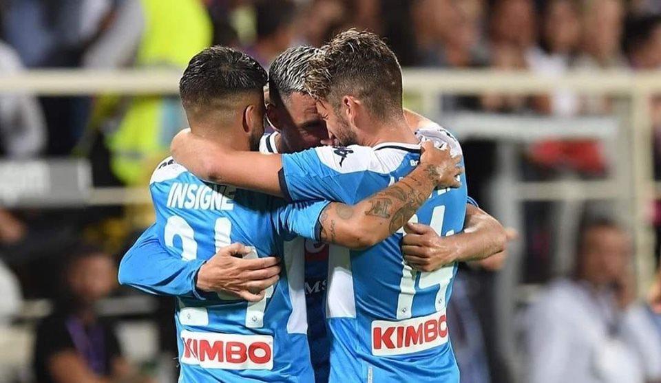 Fiorentina-Napoli 3-4: Mertens, Callejon e doppio Insigne firmano il successo all'esordio