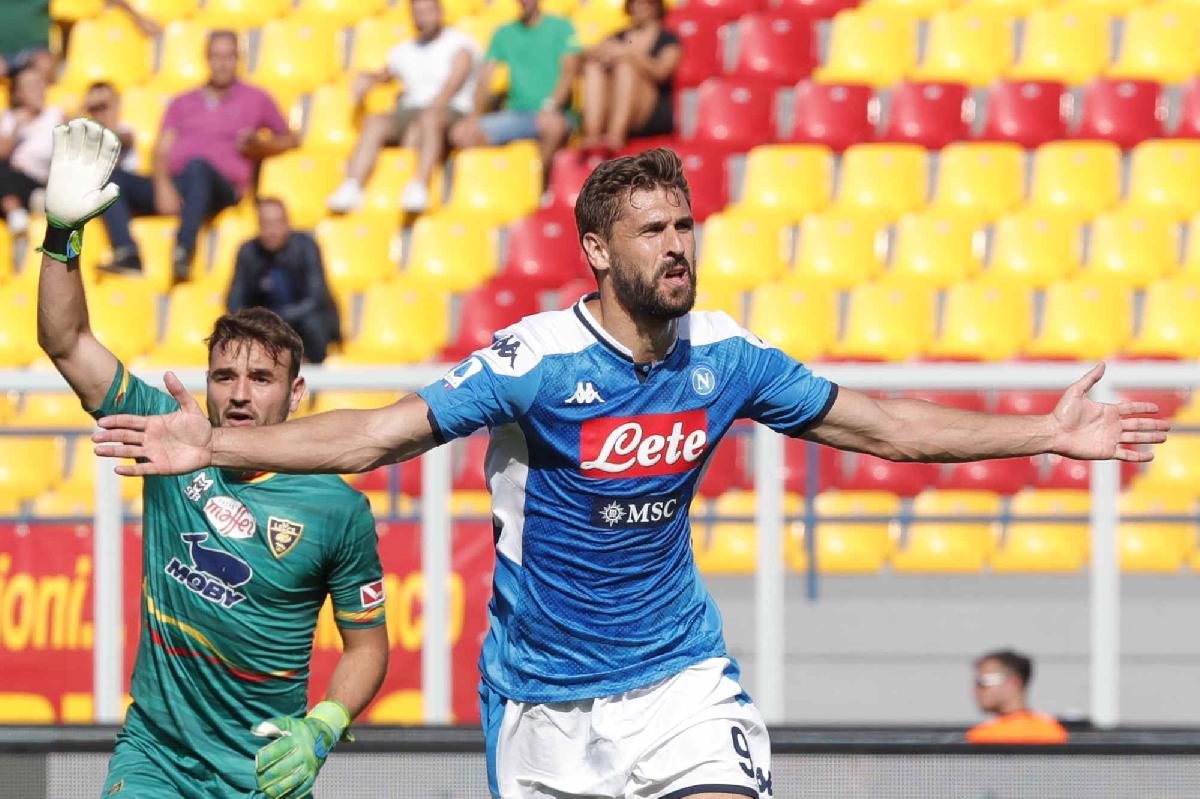 Lecce-Napoli 1-4: decidono Insigne, Fabian e Llorente formato Re Leone