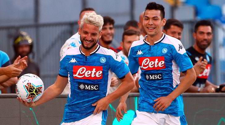 Napoli-Sampdoria 2-0, la doppietta di Mertens affonda i blucerchiati
