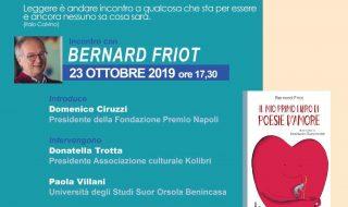 L'Associazione Kolibrì ospita Bernard Friot alla Fondazione Premio Napoli