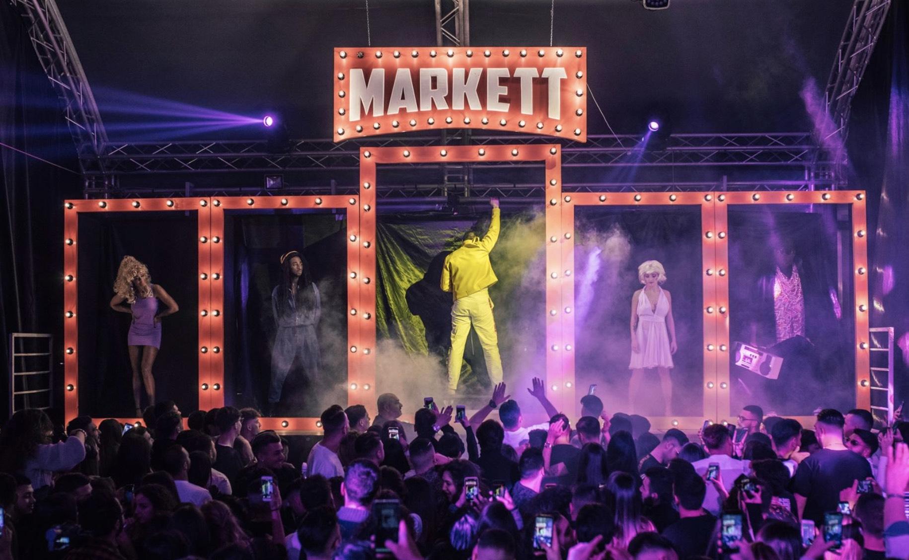 Partylines riporta a Napoli Markett: format rivelazione del by nigth, che torna rinnovato per un live all'Hub