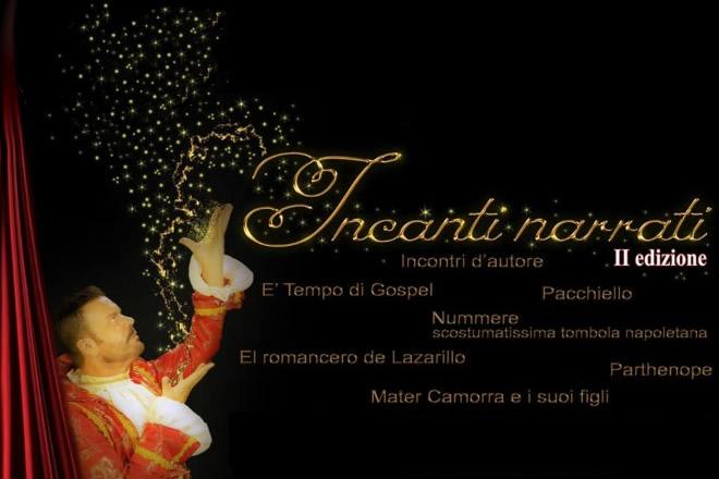 Al via 'Incanti narrati - seconda edizione' al teatro Tin di Napoli