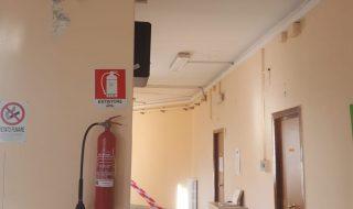 Andrea Doria: cadono calcinacci all'interno della scuola