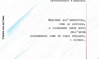 """Annamaria Varriale presenta """"L'incerto volo dell'anima"""""""