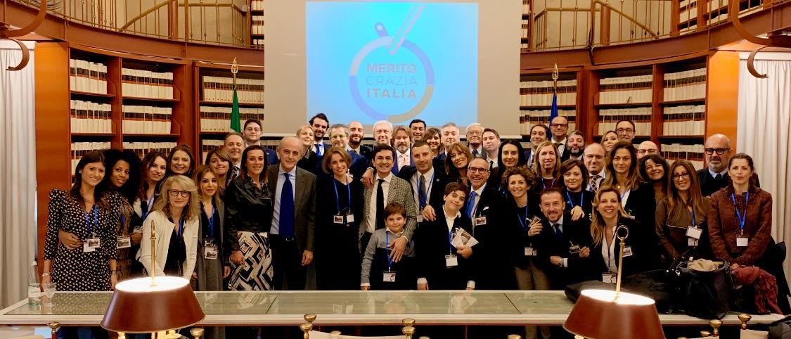 Meritocrazia, si è conclusa la Direzione Nazionale a Roma