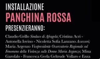 Violenza sulle donne, panchine rosse a Santa Maria Capua Vetere e Afragola
