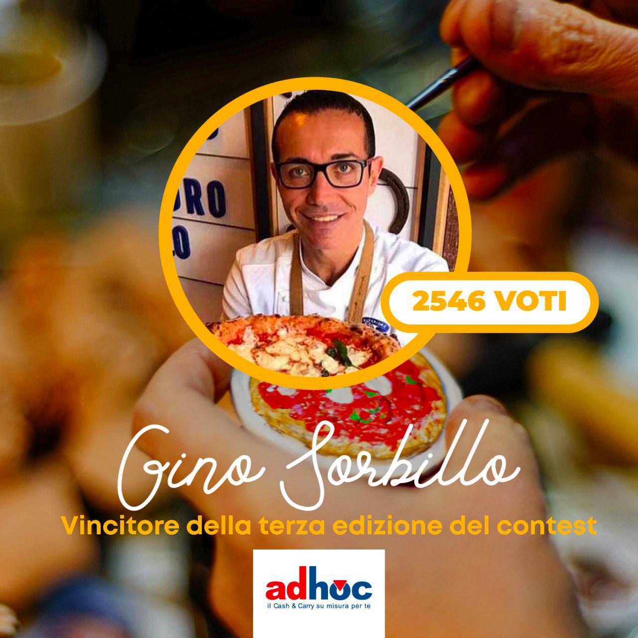 """Gino Sorbillo vince """"Un pizzaiolo Adhoc nel presepe di Ferrigno"""""""
