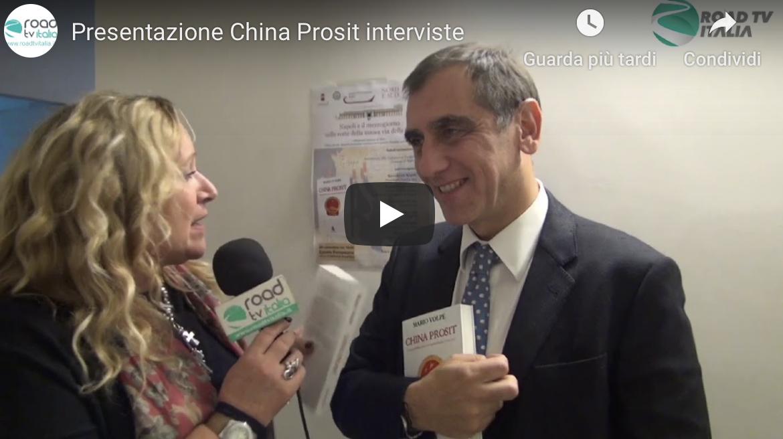 Presentazione China Prosit, il nuovo libro di Mario Volpe (Video-Interviste)