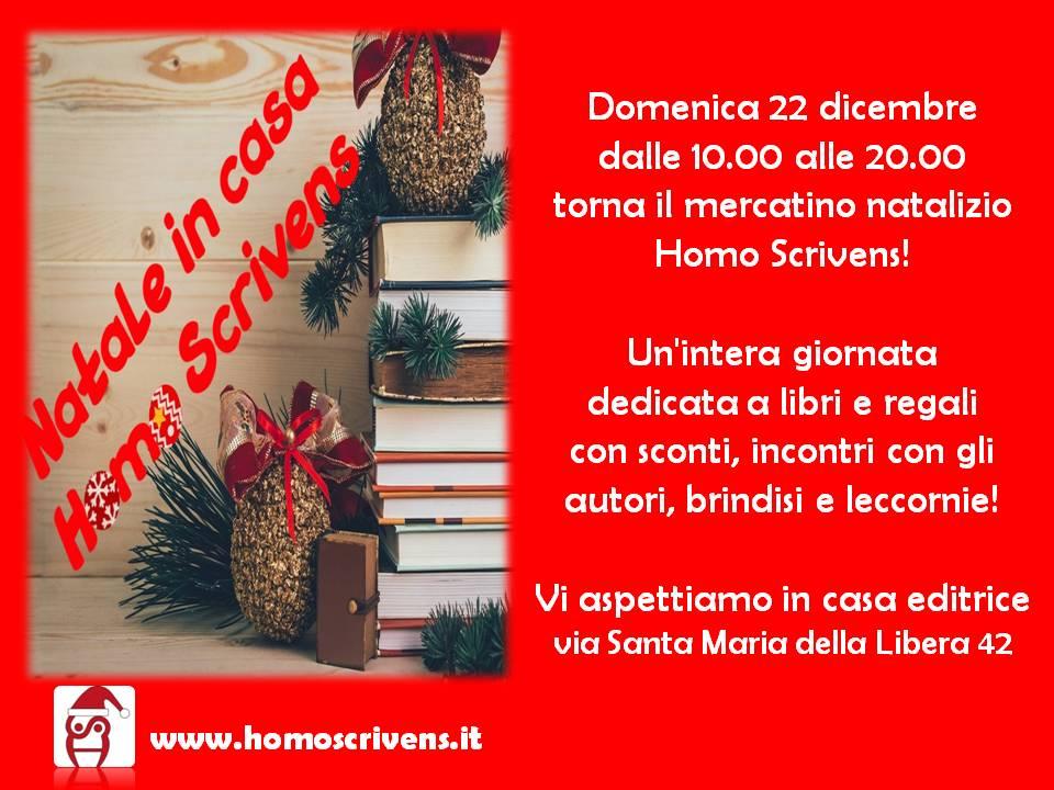 Torna il mercatino natalizio di Homo Scrivens