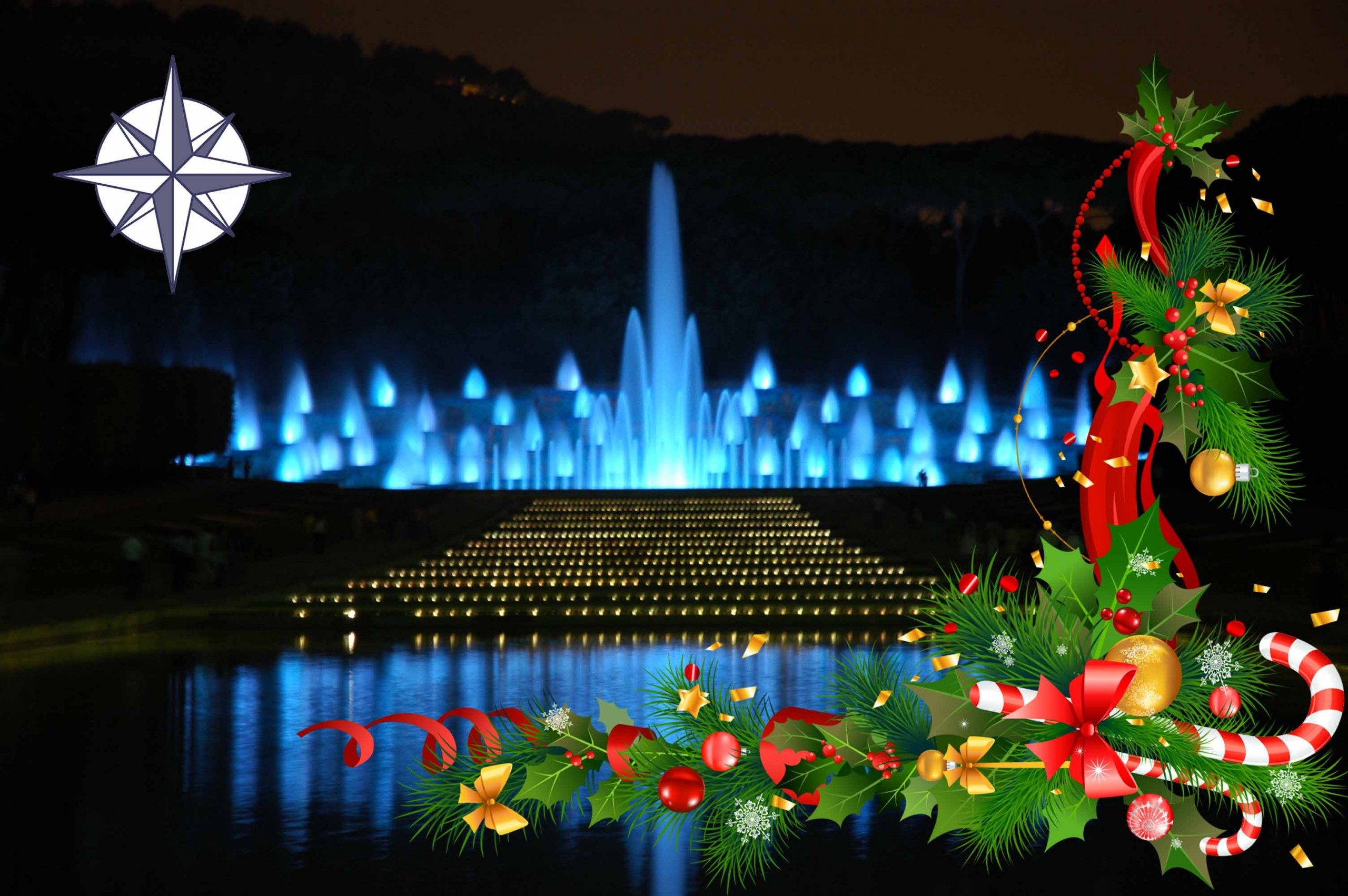 Mostra D'Oltremare, a Natale il meraviglioso spettacolo della Fontana dell'Esedra