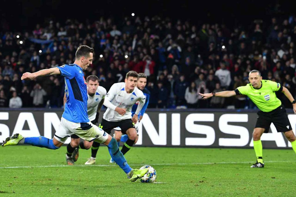 Napoli, buone notizie per Gattuso: Milik torna in gruppo