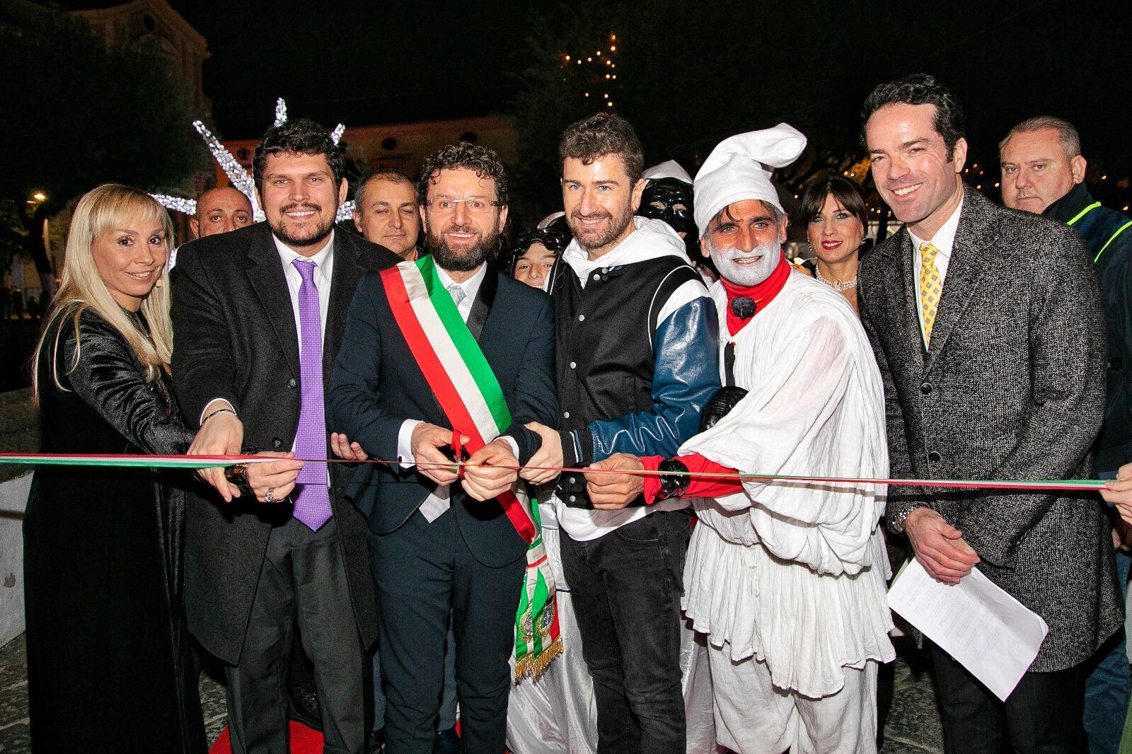 Siani accende il Pulcinella Film Festival