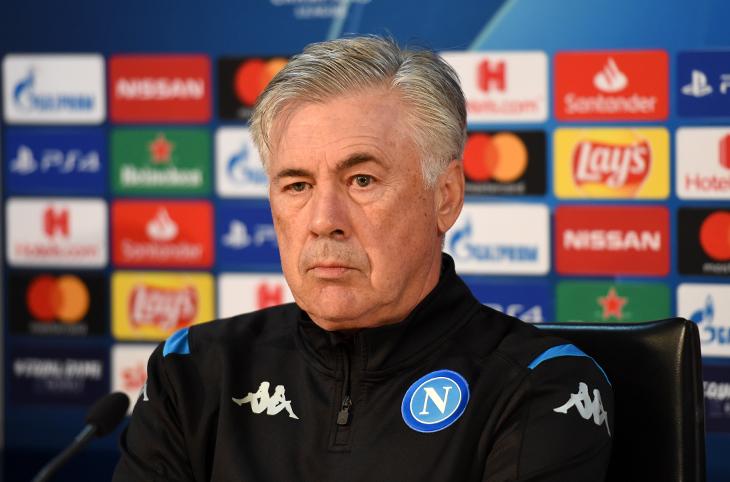 """Napoli-Genk, Ancelotti in conferenza: """"Siamo concentrati sulla qualificazione"""""""