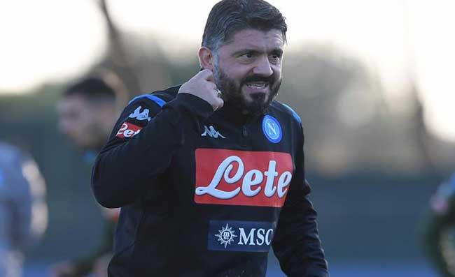 """Napoli, Gattuso è il nuovo allenatore: """"Testa bassa e pedalare, l'obiettivo stagionale è la Champions"""""""