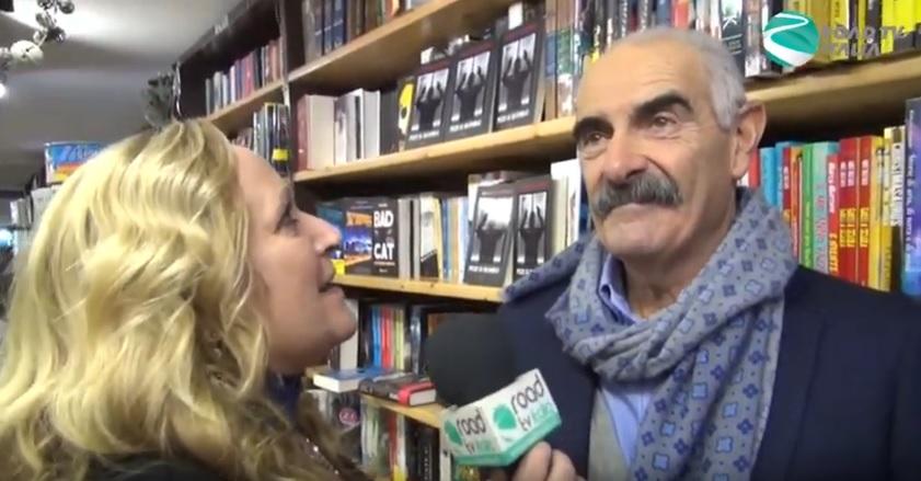"""Intervista a Giovanni Canestrelli durante la presentazione di """"Pezzi di ricambio"""""""