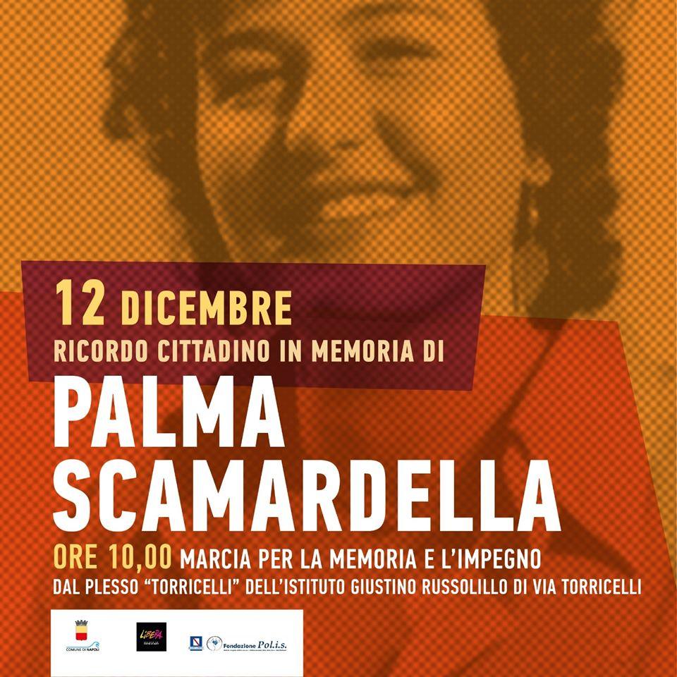 Una marcia per la memoria nel nome di Palma Scamardella, vittima innocente di camorra
