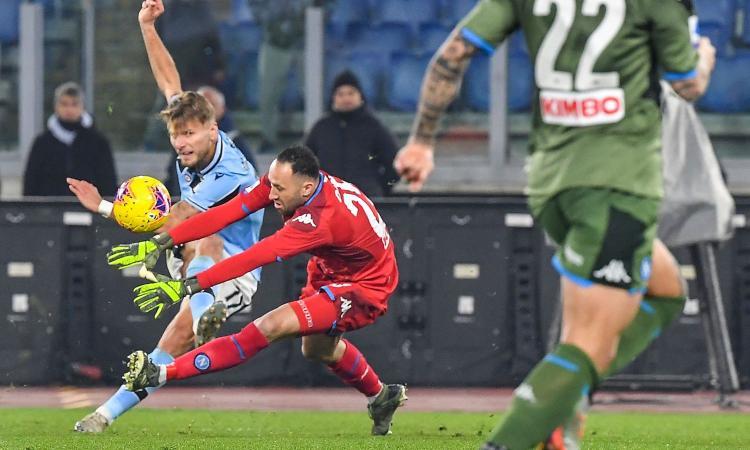 Lazio-Napoli 1-0, Immobile e il clamoroso errore di Ospina affondano Gattuso