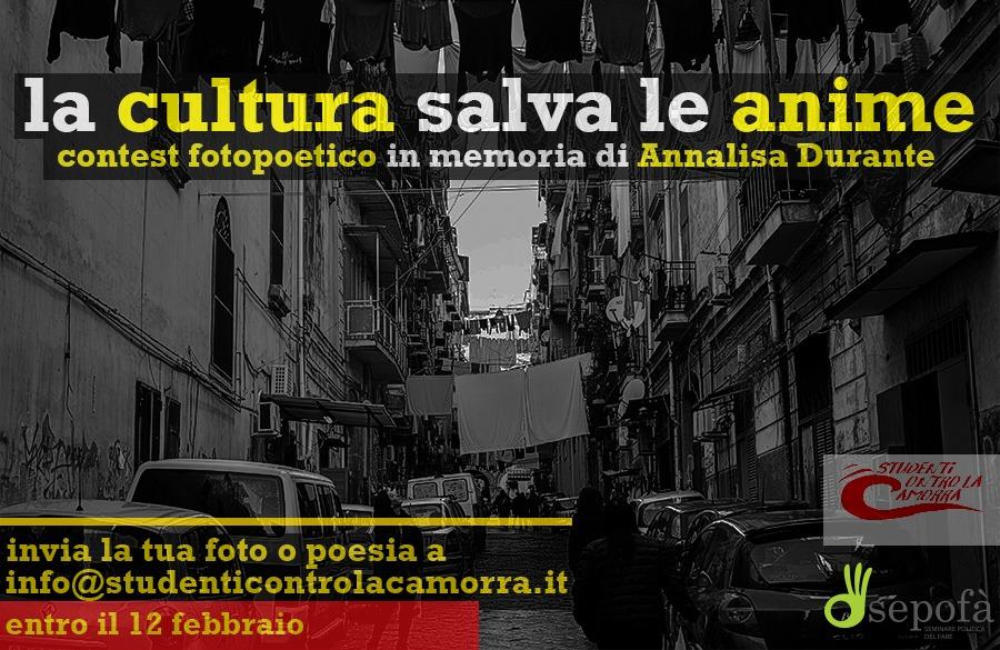 Napoli, contest di foto e poesia in memoria di Annalisa Durante