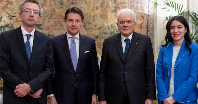 Governo, i neo ministri Azzolina e Manfredi hanno giurato al Quirinale